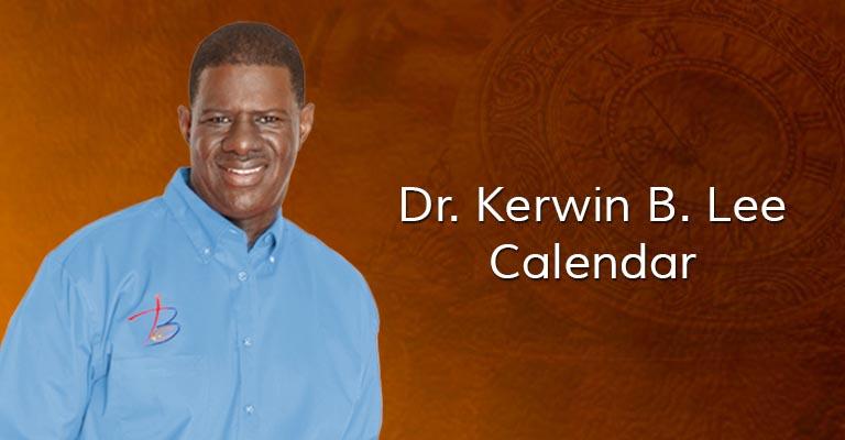 Kerwin Lee Mentorship Calendar
