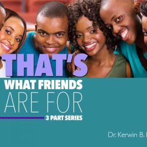 Thats What Friends Kerwin Lee Cover