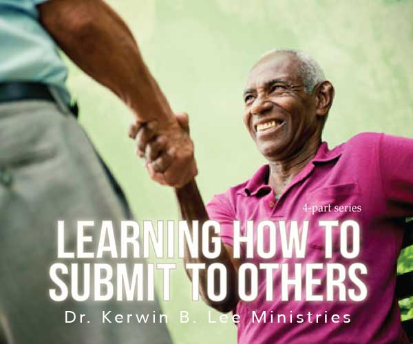 Learning How to Submit to Others DVD - Dr. Kerwin B. Lee
