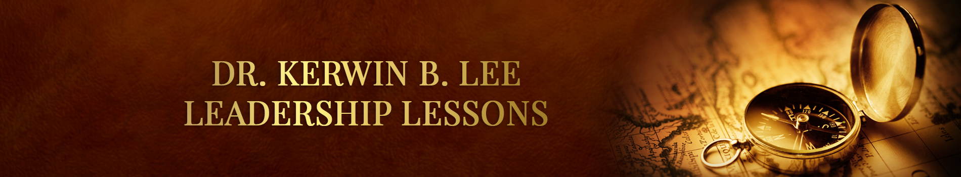 Kerwin Lee Leadership Lessons